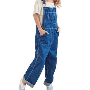 61a5d6062050 NWT Urban Outfitters BDG Oversized Denim Overalls